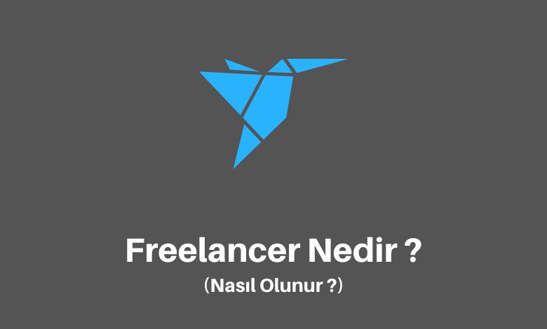 Freelancer Ne Demek ?